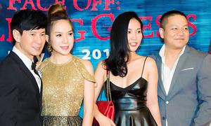 Vợ chồng Kim Hiền đi xem phim của Lý Hải ở Mỹ