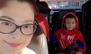 Thanh Thảo tự hào con trai 8 tuổi biết làm đủ việc