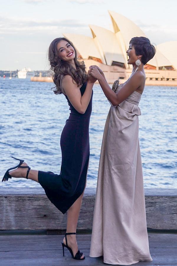 Lời nhận xét tưởng chừng vui đùa này lại trở thành nguyên nhân khiến ba người đẹp bị chỉ trích nặng nề. Hoa hậu Mỹ phải lên tiếng xin lỗi, riêng Francesca giải thích lời nhận xét của họ bị hiểu sai nội dung. Đại diện ban tổ chức Hoa hậu Hoàn vũ Australia sau đó phải làm việc với ban tổ chức Miss Universe và lên tiếng bảo vệ Francesca trên báo chí.