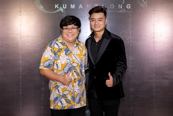 Nghê sĩ Gia Bảo và đạo diễn Poy Kim của bộ phim.