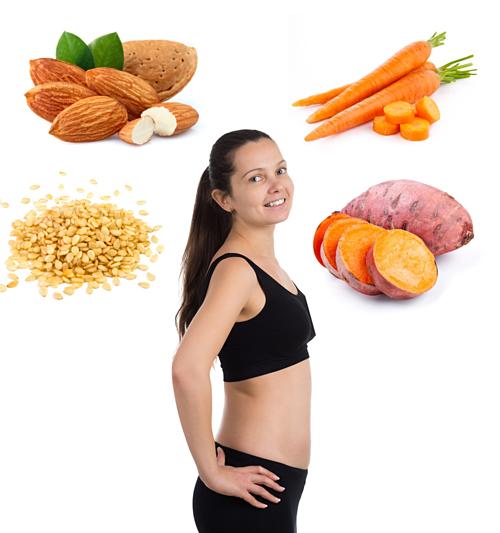 Thực phẩm nên ăn theo từng tuần thai - 4
