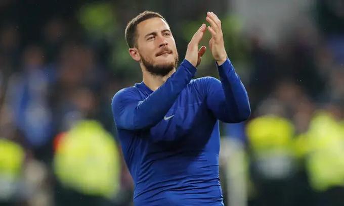 Trận đấu với Frankfurt có thể là lần cuối cùng Hazard ghi bàn trên sân Stamford Brige vì anh đã đánh tiếng sẽ ra đi