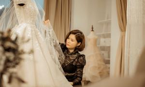 NTK Phương Linh trình làng váy cưới Haute Couture sau 19 năm
