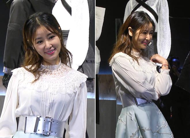 Trước những câu hỏi có phải đang bầu bí không, ngôi sao Đài Loan phủ nhận và nói cô tùy thuộc vào tự nhiên, khi nào có tin vui sẽ chia sẻ. Nữ diễn viên cũng cho biết hiện cô đang đóng phim mới, tạm thời phải xa con nhỏ ở nhà.