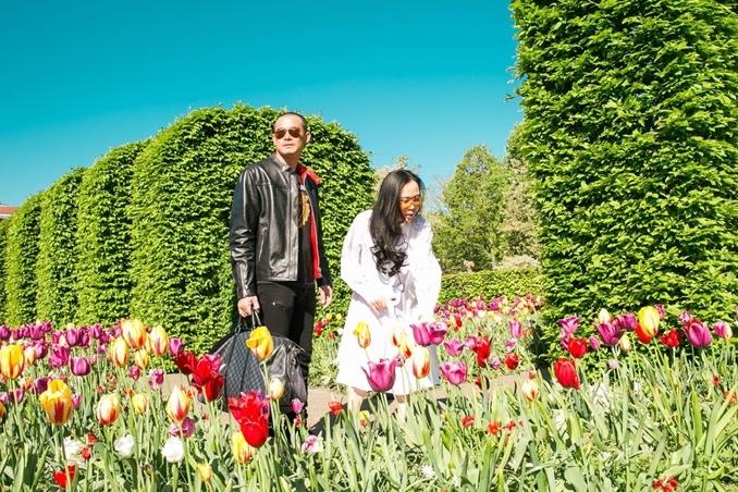 Cặp đôi cũng có sở thích đi du lịch. Trong ảnh là chuyến đi đến Hà Lan hồi tháng 5/2018.