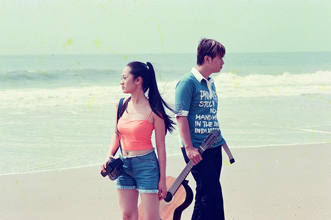 Đạo diễn Vũ Ngọc Đãng cho biết đây là những bức hình được chụp khi quay MV đầu tiên của Hàn Thái Tú vào năm 2003. MV này Thanh Thúy đóng nữ chính. Lúc này cô 21 tuổi.