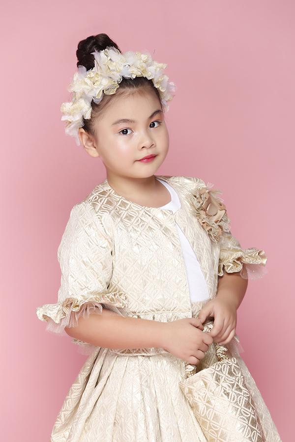 Áo đầm đi sinh nhật cho bé gái - 1