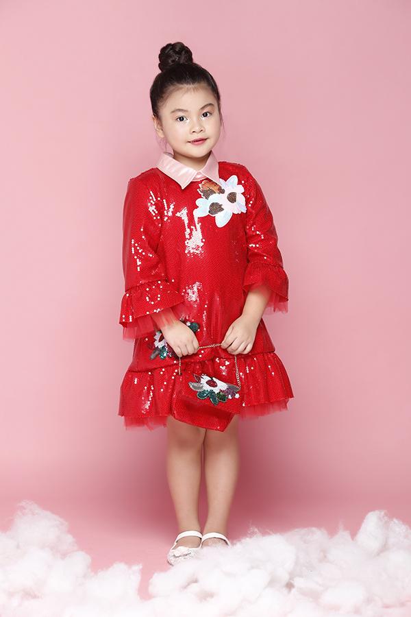 Áo đầm đi sinh nhật cho bé gái - 3
