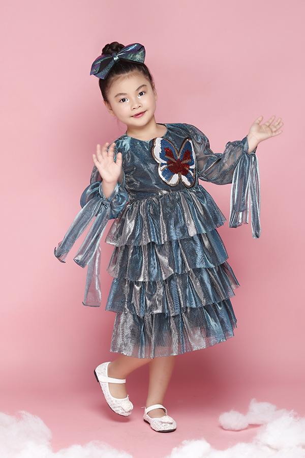 Áo đầm đi sinh nhật cho bé gái - 5