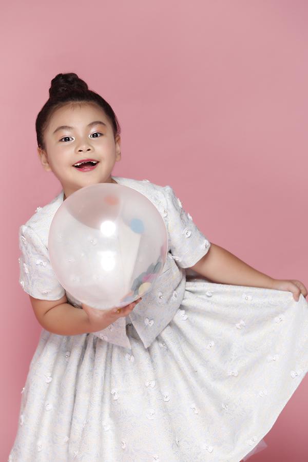 Áo đầm đi sinh nhật cho bé gái - 9