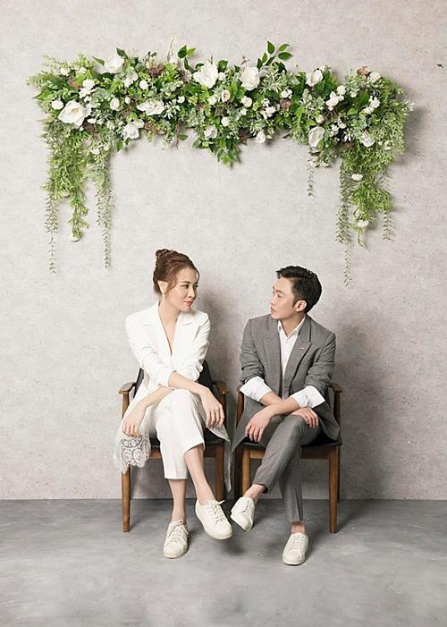 Một số ảnh cưới của Cường Đôla - Đàm Thu Trang.