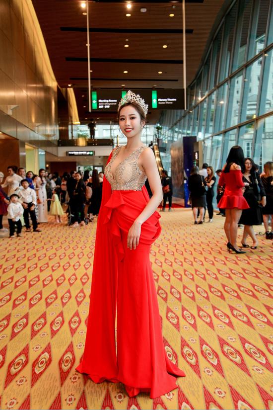 kết cuộc thi Hoa hậu sắc đẹp toàn cầu châu Á 2019 diễn ra tại Malaysia tối qua (11/5).