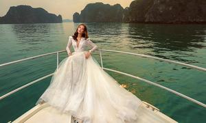 Váy cưới 'trendy' mùa hè thu của Chung Thanh Phong
