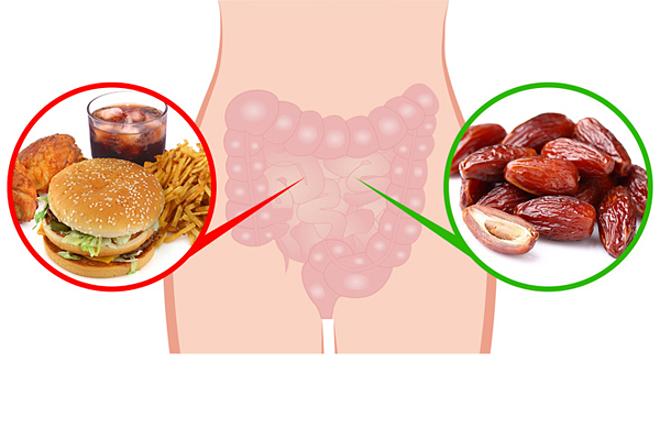 Cải thiện tiêu hóa Chà là rất giàu chất xơ hòa tan, có thể giúp làm mềm thức ăn trong đường ruột và thúc đẩy đường ruột khỏe mạnh.