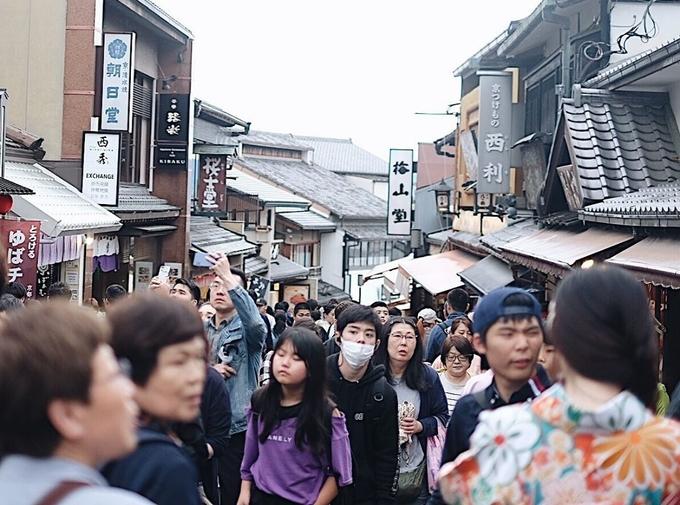 Góc phố đẹp như thơ ở Kyoto
