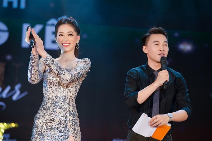 Hiện Phương Nga cũng gây chú ý với mối tình cùng diễn viên Bình An.