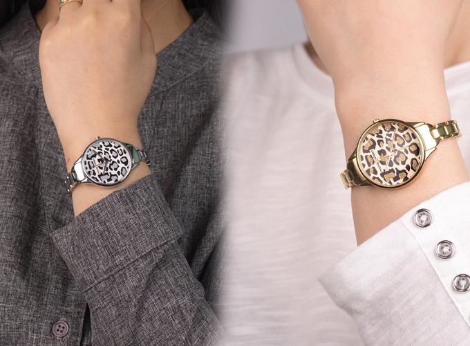 Những mẫu đồng hồ thiết kế caro, đính đá xanh biển phù hợp mùa hè - 3