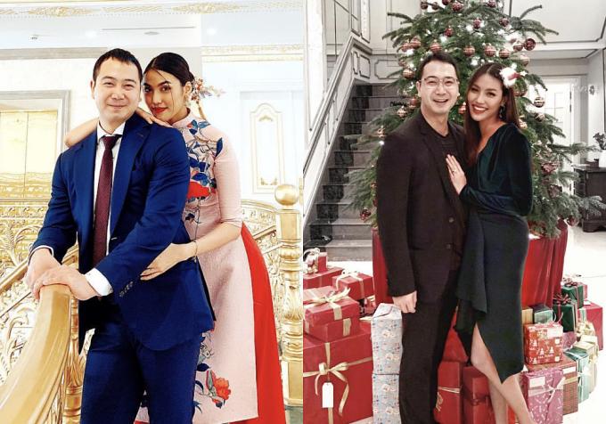 Sau đám cưới, vợ chồng Lan Khuê sinh sống trong căn biệt thự của gia đình tại TP HCM. Biệt thự dát vàng cókiến trúc kiểu châu Âu,lộng lẫytựa tòa lâu đài với tông màu trắng chủ đạo.
