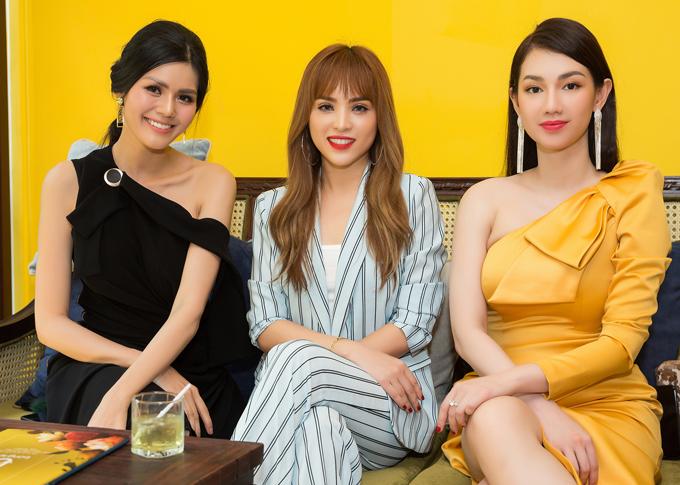 Kim Nguyên, Chung Thương và Quỳnh Chi chung quan điểm phụ nữ phải giữ gìn nhan sắc kỹ lưỡng, đặc biệt là những người hoạt động trong làng giải trí.