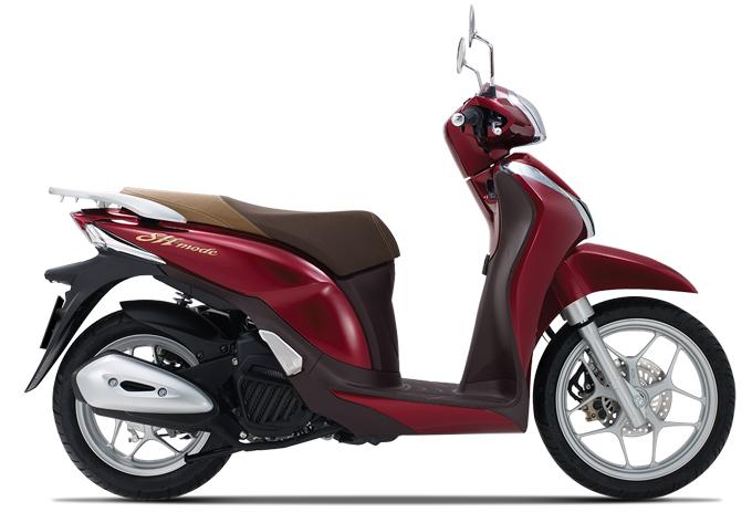 Honda SH Mode 125 có thêm màu đỏ mới - 1
