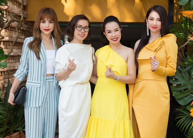 Quỳnh Chi và Chung Thương bật mí họ sẽ hoạt động tích cực và có nhiều dự án ấn tượngtrong nửa cuối năm 2019.