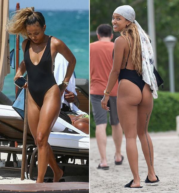 Người mẫu kiêm diễn viên 30 tuổi mặc bikini gợi cảm khoe thân hình săn chắc.