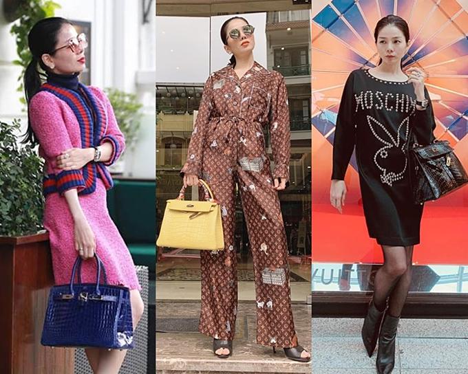 Phong cách thời trang phủ đầy hàng hiệu của nữ hoàng bolero.