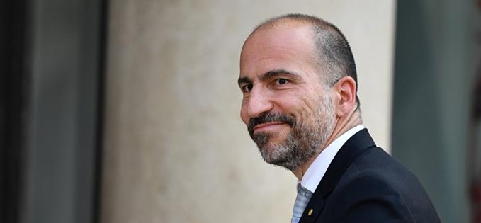 CEO 49 tuổiDara Khosrowshahi của Uber. Ảnh:Anadolu Agency.