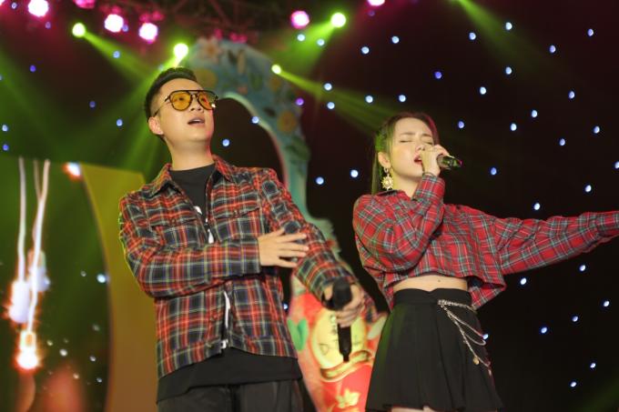 Á hậu Huyền My tham gia Lễ hội ẩm thực - âm nhạc tại Hà Nội - 8