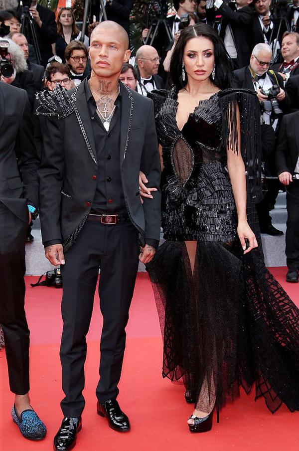 Người mẫu Andreea Sasu và bạn trai - người mẫu Mỹ Jeremy Meeks.