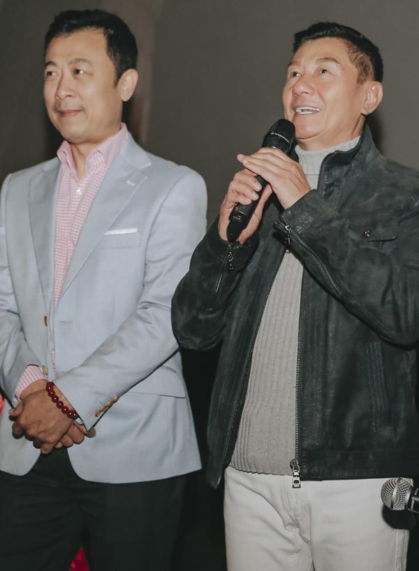 Nghệ sĩ Bảo Liêm - bạn thân của Vân Sơn hào hứng khi được xem phim Việt trên đất Australia.