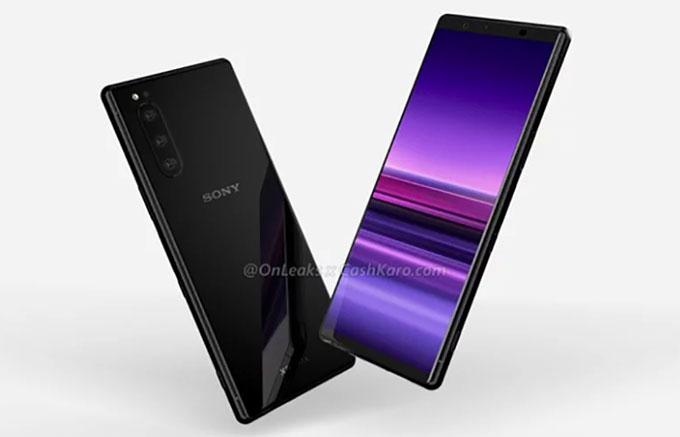 Sony Xperia 2 lộ diện với ba camera sau