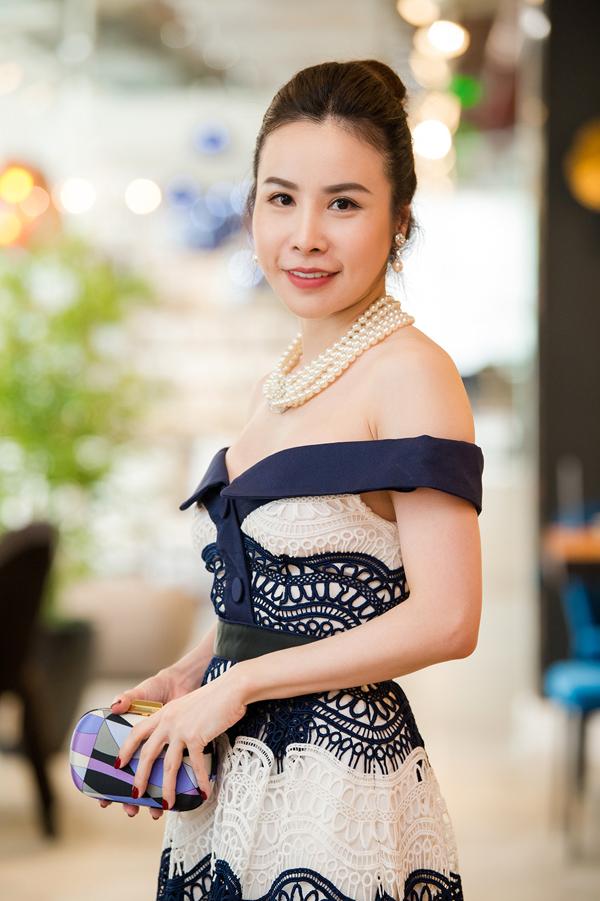 Hoa hậu Áo dài Hoàng Dung.
