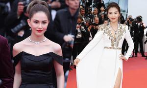 Lưu Đào, Côn Lăng nổi bật trên thảm đỏ Cannes
