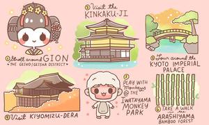 10 điều nên làm khi du lịch Kyoto