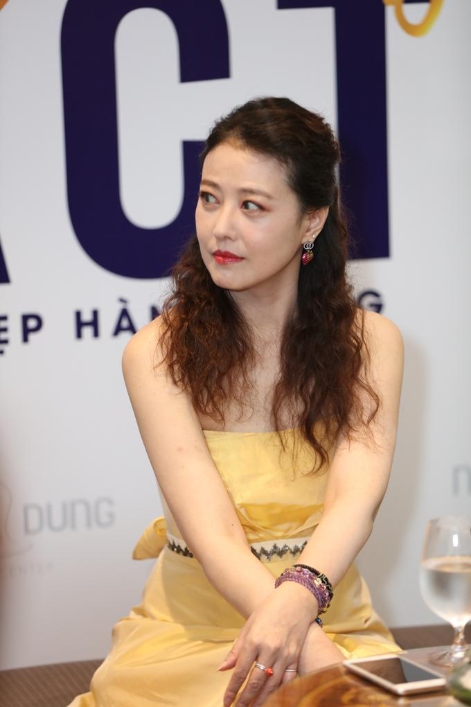 Châu Hải My dự sự kiện ở Sài Gòn
