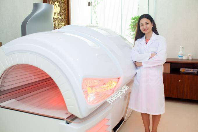 Trẻ hóa làn da với phương pháp chiếu sáng collagen