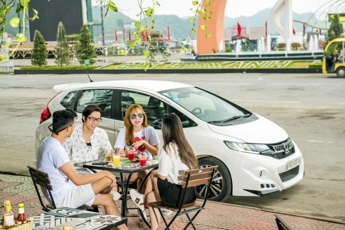 Xe có thiết kế thời trang, nhỏ gọn phù hợp, dễ di chuyển trong nội đô đông đúc.