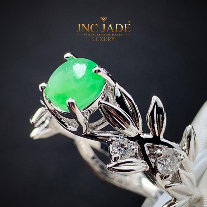 Chỉ khi được chiêm ngưỡng trực tiếp bộ sưu tập chế tác từ ngọc Phỉ thúy mới cảm nhận rõ sự độc đáo của ngọc jade thiên nhiên và tài năng chế tác của các nhà thiết kế. Được mệnh danh là Nữ hoàng của các loại đá quý, ngọc Phỉ thúy có màu xanh Lục bảo Hoàng gia.Các nhà thiết kế của JNC Jade muốn tạo ra những món trang sức thể hiện cốt cách thanh nhã, mang gu thẩm mỹ tinh tế