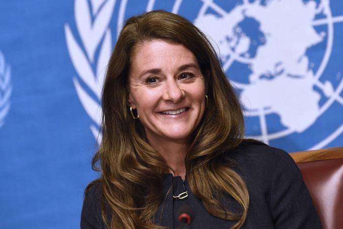 Bà Melinda Gates tiết lộ thường tập thiền, yoga vào mỗi sáng. Ảnh: CNBC.