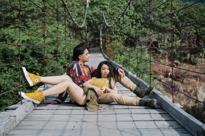 Nữ ca sĩ giới thiệu nhiều cảnh đẹp thiên nhiên miền Trung trong sản phẩm mới.