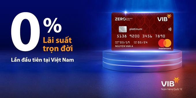 VIB Zero Interest Rate hướng đến đối tượng khách hàng có thu nhập từ 12 triệu đồng một tháng.