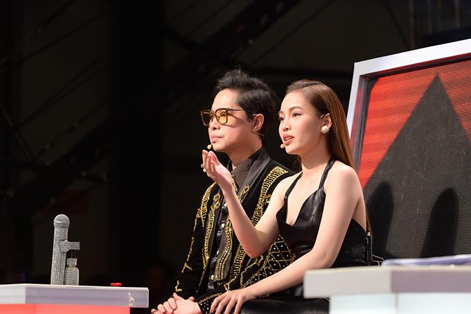 Giang Hồng Ngọc coi việc tham gia cuộc thi này là dấu ấn cho việc tái xuất showbiz của mình.