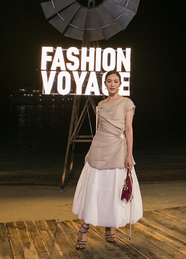 Vợ chồng Trúc Diễm và dàn sao đến hoang đảo dự Fashion Voyage mùa  2 - 9
