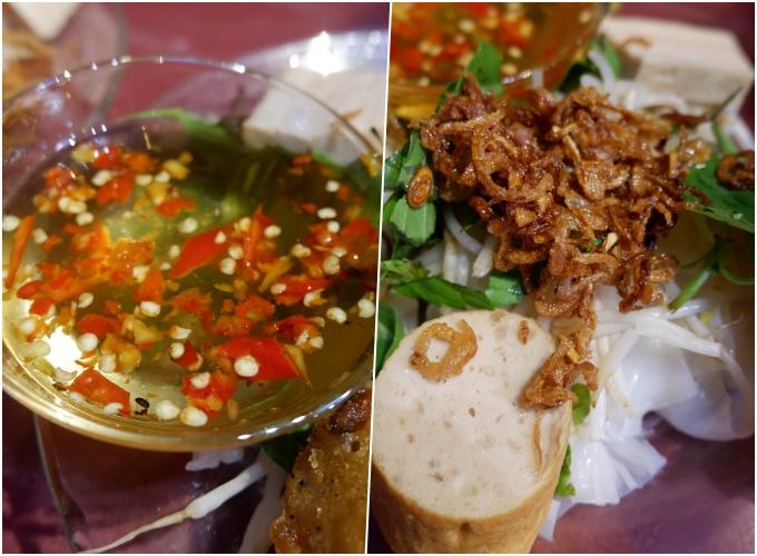 Đĩa bánh cuốn bình dân ngay phố Wall Sài Gòn - 1