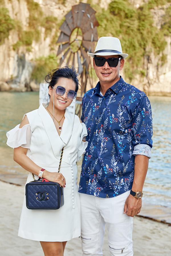 Vợ chồng Trúc Diễm và dàn sao đến hoang đảo dự Fashion Voyage mùa  2 - 1