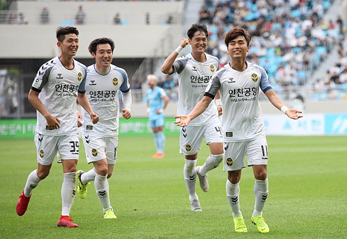 Niềm vui của Incheon chỉ kéo dài được 2 phút, trước khi nhận bàn thua quyết định.