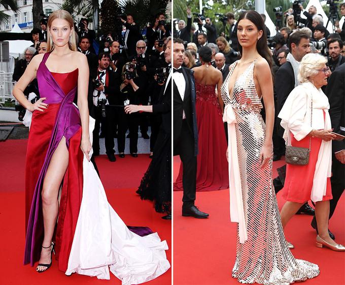 Người mẫuToni Garrn (bên trái) và diễn viênCamila Morrone cùng là khách mời đến dự lễ ra mắt tác phẩm điện ảnhPháp The Best Years of A Life tại LHP Cannes hôm 18/5.Toni Garrn từng hẹn hò tài tửLeonardo DiCaprio từ năm 2013 đến 2014 và có thời gian ngắn tái hợp vào giữa năm 2017. Trong khi đóCamila Morrone là bạn gái của Leo từ cuối năm 2017 đến nay.