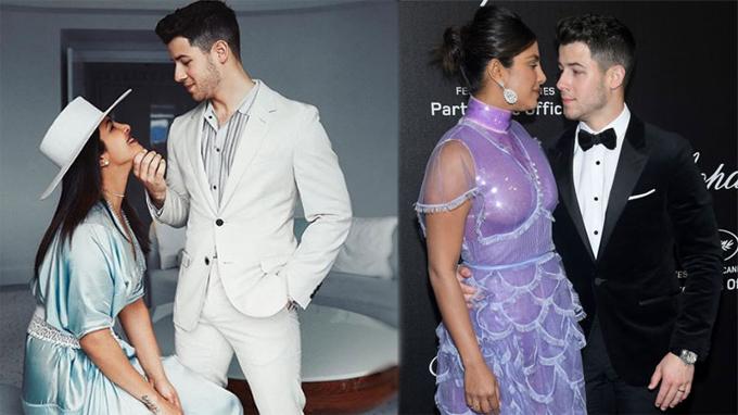 Vợ chồng Nick-Priyanka tham dự các sự kiện ở Cannes trước khi đến thảm đỏ.