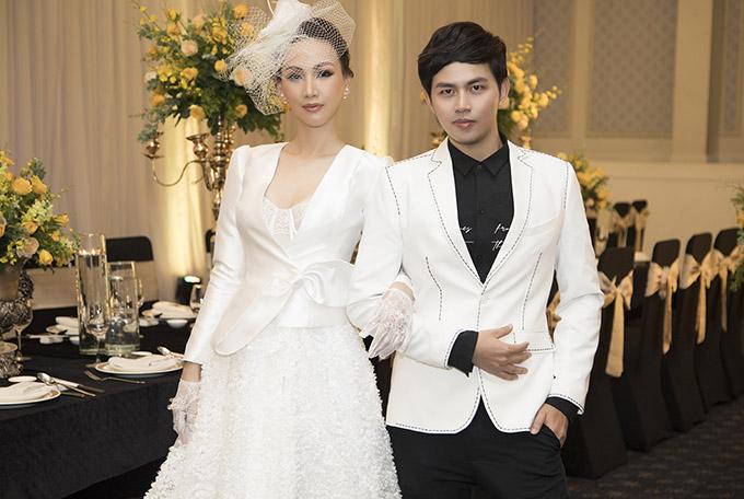 Paris Vũ đẹp quý phái, cổ điển khi khoác lên mình trang phục dành cho cô dâu.